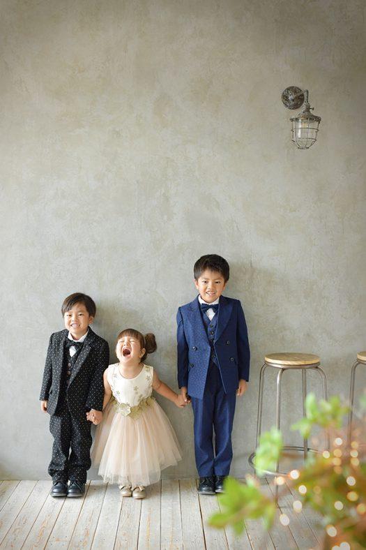 ドレス スーツ 兄妹 3兄弟