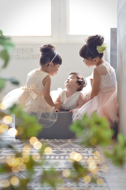 姉妹 撮影 ドレス 赤ちゃん