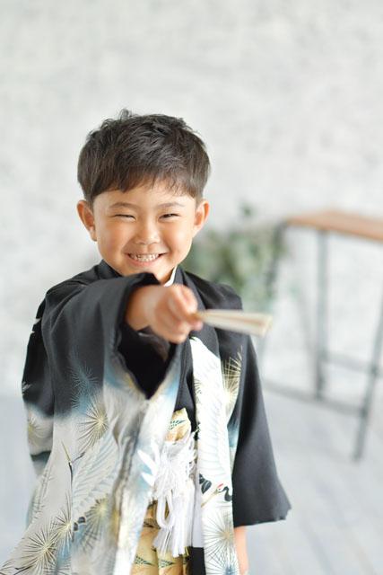 七五三 男の子 5歳 着物 袴