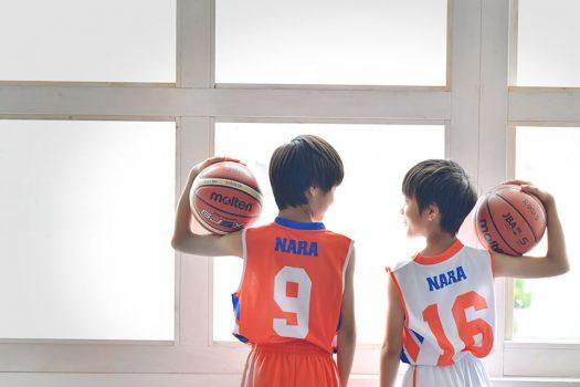 バスケットボール クラブ ユニフォーム 兄弟 友達