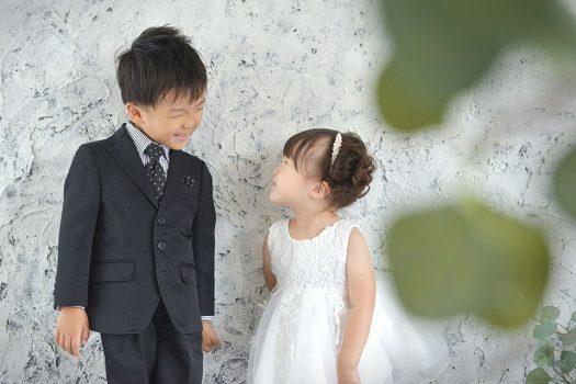 七五三 兄妹 ドレス スーツ