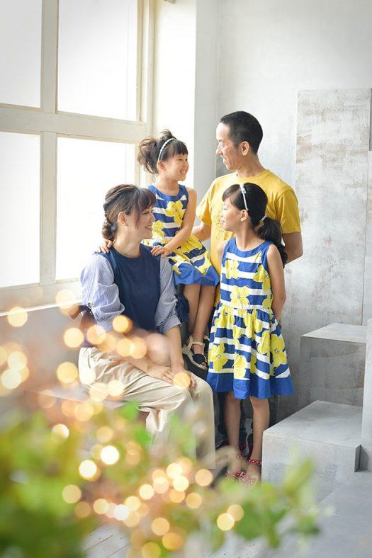 家族撮影 私服
