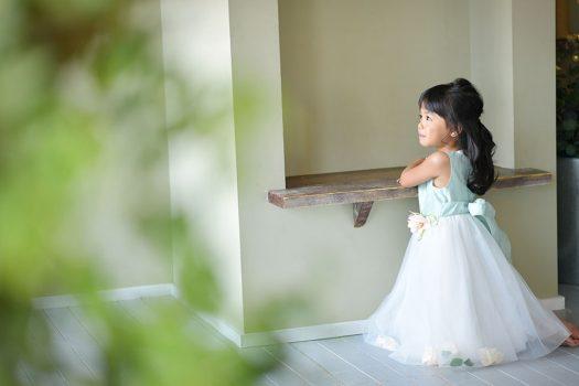 バースデー撮影 ドレス 女の子