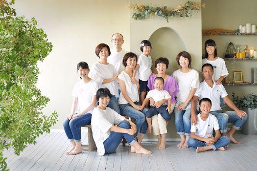 家族撮影 記念