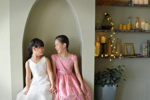 姉妹 ドレス 洋装