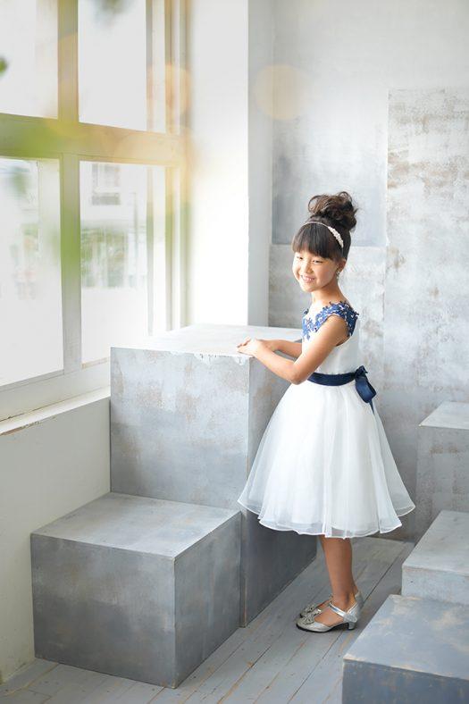 七五三 7歳 女の子 ドレス 洋装