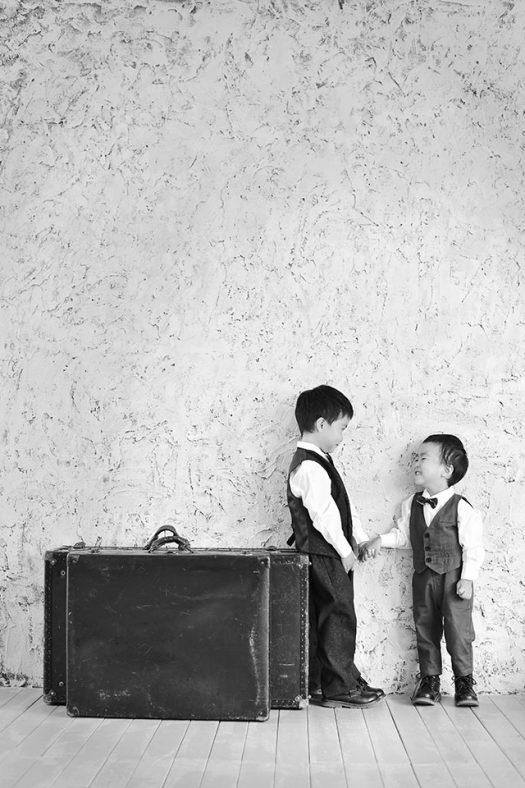 兄弟 スーツ 洋装 男の子
