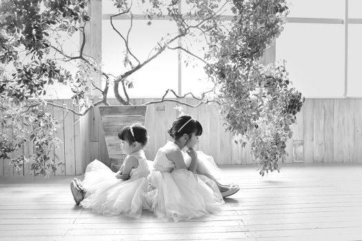 七五三 ドレス 洋装 姉妹