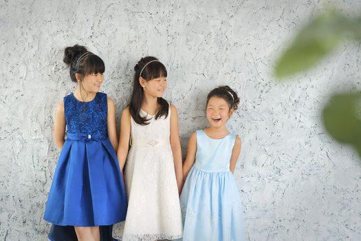 ドレス  姉妹
