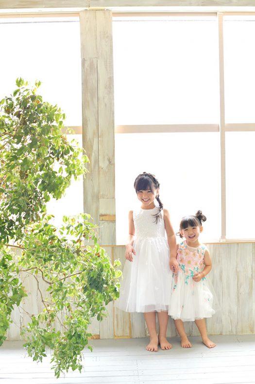 七五三 ドレス 姉妹