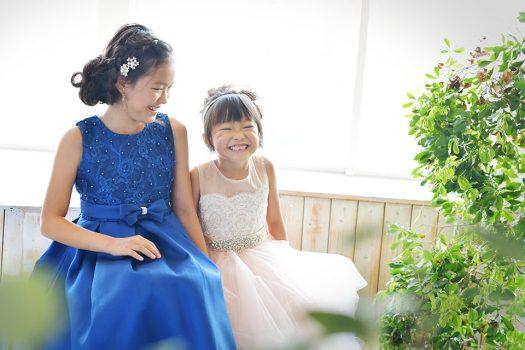 七五三 姉妹撮影 ドレス