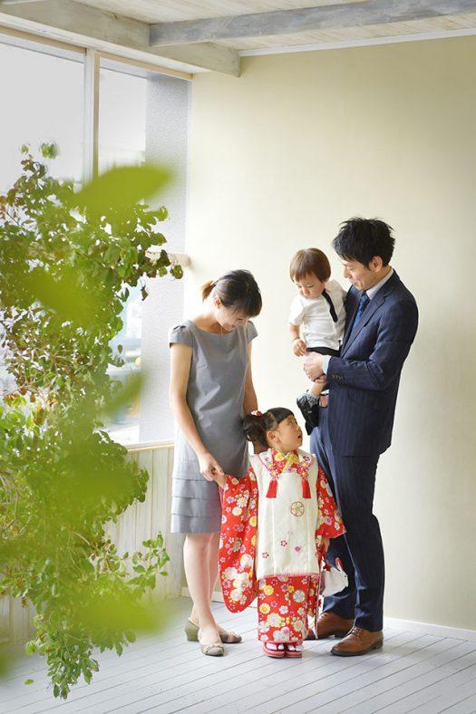 七五三 家族撮影