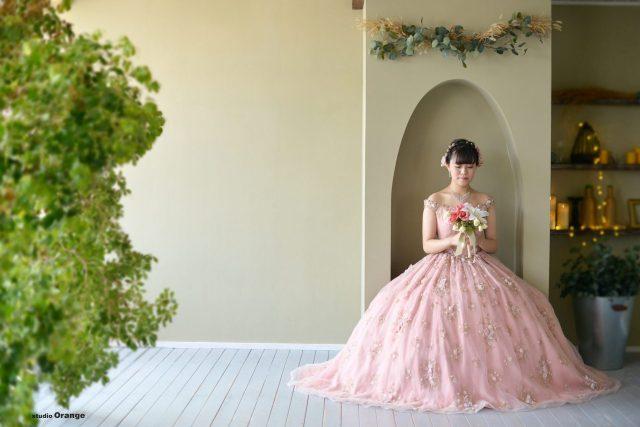 成人式 前撮り ドレス撮影