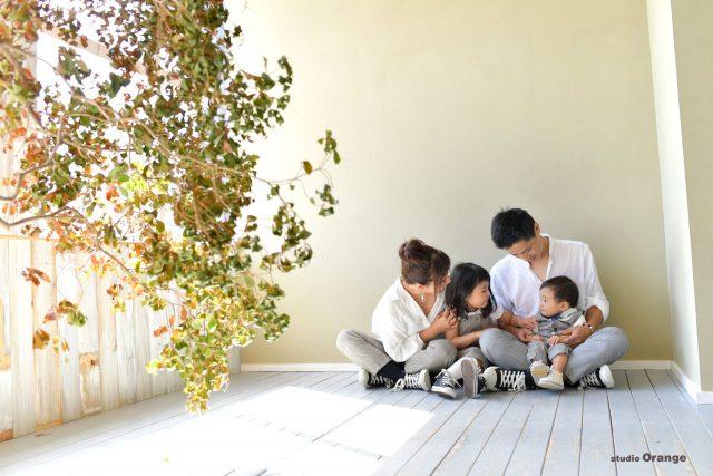 バースデー 誕生日 バースデーフォト 誕生日記念 家族写真 奈良 スタジオ スタジオフォト