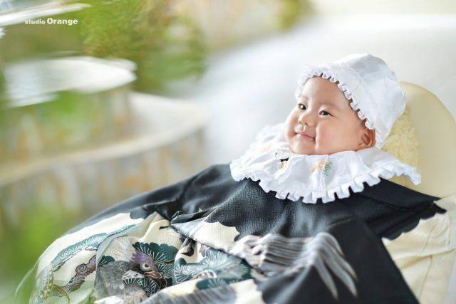 お宮参り 初着 祝着 男の子 3ヶ月