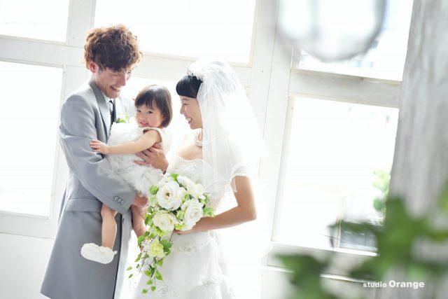 ウェディング ウェディングドレス ベール ママ婚