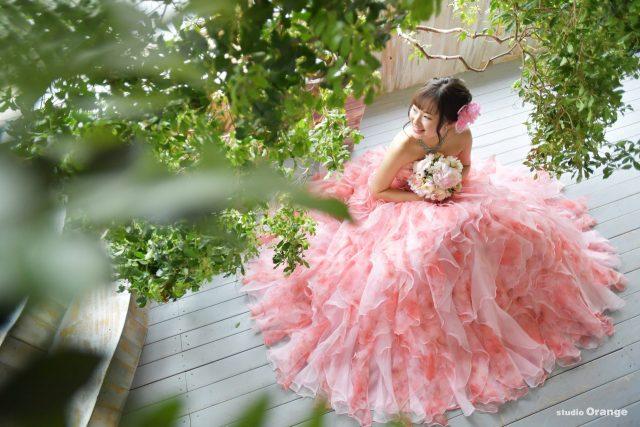 成人式 ドレス ピンクのドレス
