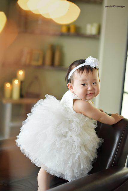 桃の節句 お雛様 スタジオオレンジ 奈良市 木津川市 学園前 精華町 ドレス 白いドレス