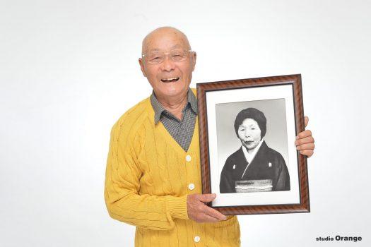 米寿 終活 生前写真 夫婦撮影