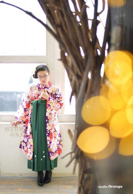 中学校入学 卒業 卒業袴 12歳女の子