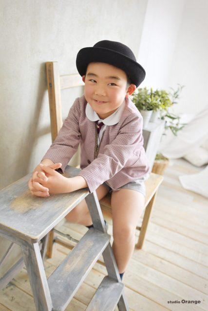 幼稚園卒園 入学 制服 ピンクの制服