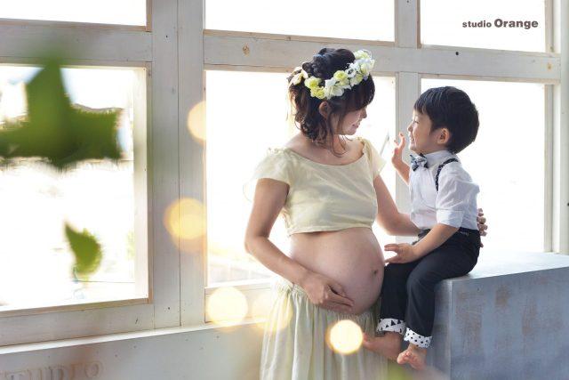 マタニティ ママ 男の子 親子 スタジオ 奈良 戌の日 衣装