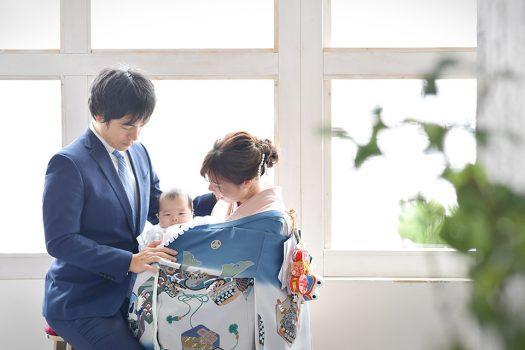 お宮参り 赤ちゃん