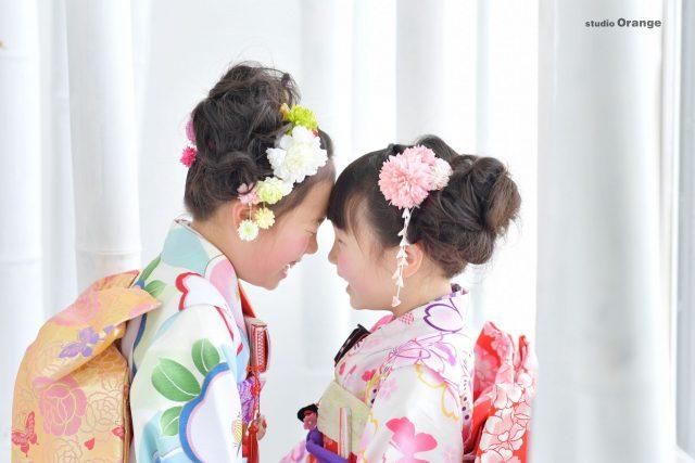 753 七五三 奈良 スタジオ スォトスタジオ 着物 7才 女の子 可愛い おしゃれ着物