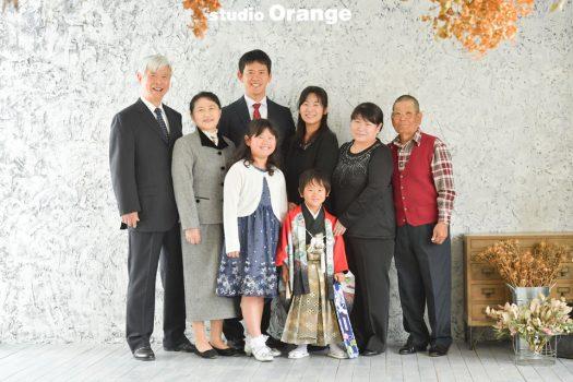 奈良 七五三 家族写真
