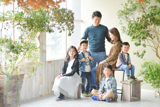 奈良 家族写真