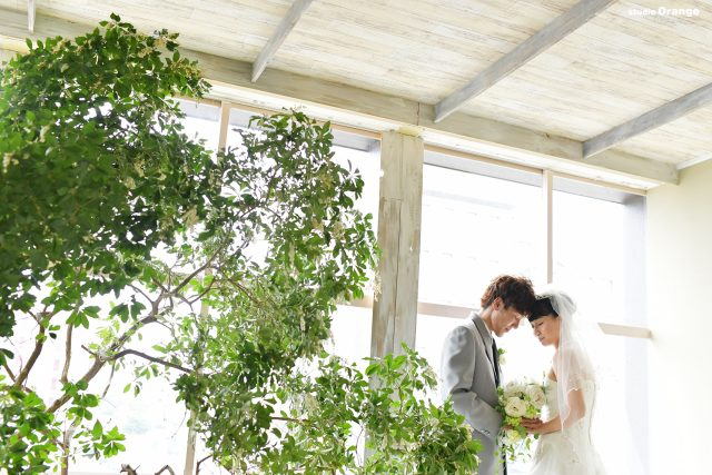 フォトウェディング ママ婚 写真だけの結婚式 ウェディングドレス