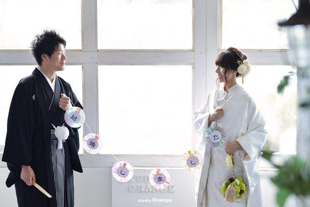 ウェディング 和装 写真だけの結婚式 奈良市 フォトスタジオ ハウススタジオ