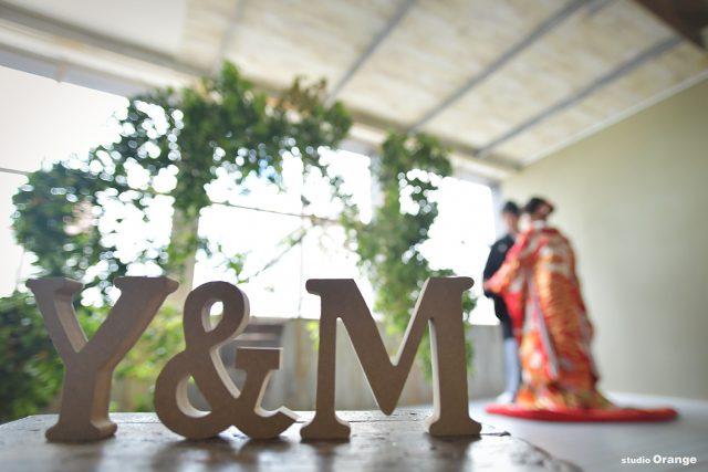 和装 ウェディング 色打掛 写真だけの結婚式 奈良市 フォトスタジオ ハウススタジオ
