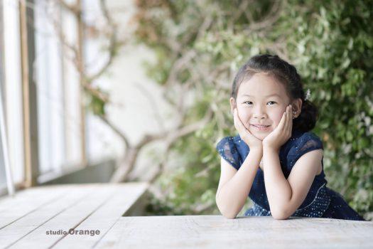 バースデーフォト 5歳 ドレス 女の子
