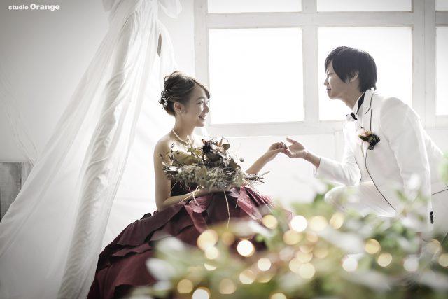 フォトウェディング 写真だけの結婚式 カラードレス