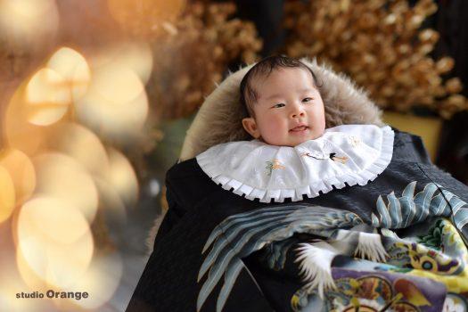 お宮参り 初宮参り 初着 祝着 3ヶ月男の子 おとこのこママ