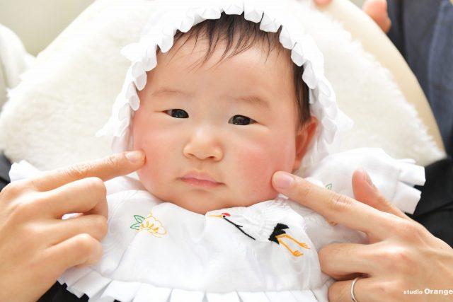 石上神宮 お宮参り 初宮参り 3ヶ月男の子 家族写真 フォアミリーフォト