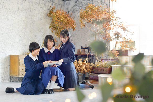 中学校入学 制服 姉妹撮影 小学校卒業