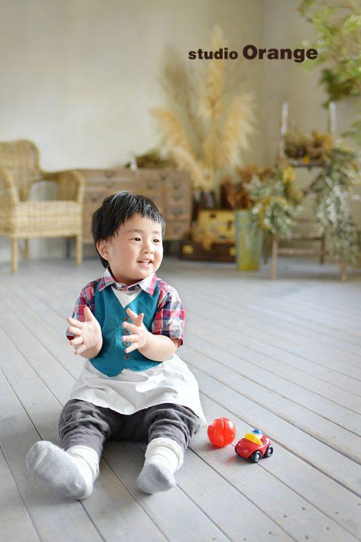 奈良 写真館 バースデー撮影 お誕生日 おしゃれ