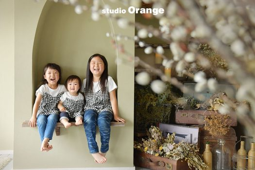 奈良 写真館 誕生日 フォトスタジオ