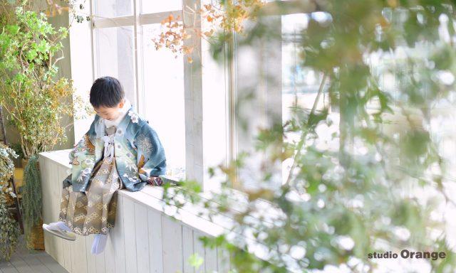 753 七五三 着物 和装 前撮り 後撮り 春日大社 フォトスタジオ 奈良市 郡山 木津川 おしゃれ 自然