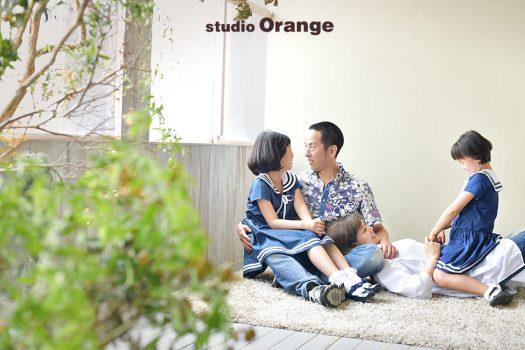 奈良 写真館 誕生日 フォトスタジオ 家族撮影