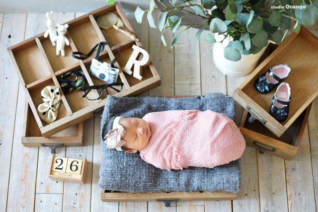 ニューボーンフォト 家族撮影 新生児フォト エコー写真