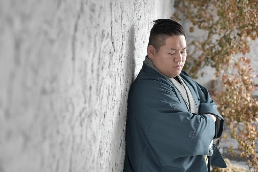 袴 男性成人 2022年成人式 奈良市