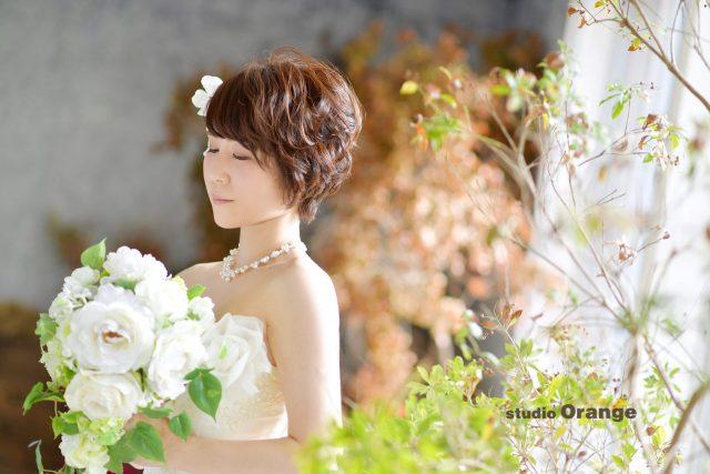 奈良市 写真館 フォトスタジオ 花嫁 ウェディング ドレス 結婚式 6月 ジューンブライド