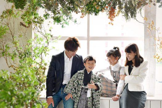 七五三 5歳 男の子 奈良 写真館