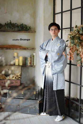 奈良市 男性成人 袴