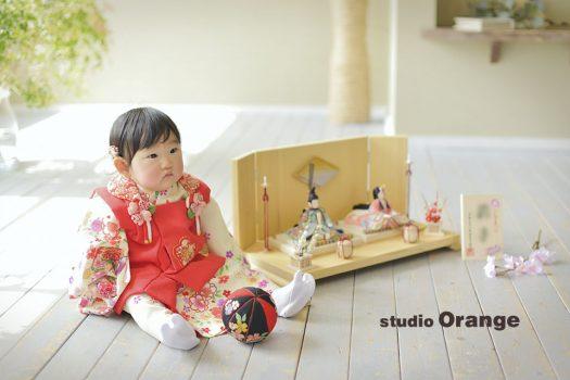 奈良 写真館 節句 桃の節句 女の子