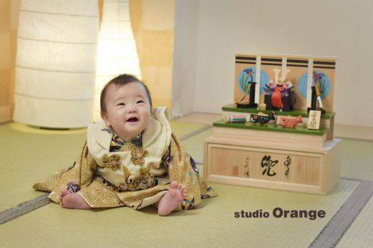 奈良市 写真館 端午の節句 フォトスタジオ ナチュラル