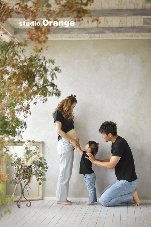 奈良 写真館 マタニティー 家族
